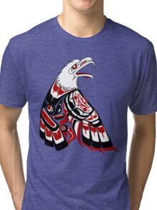 Eagle Human Tri-blend T-Shirt