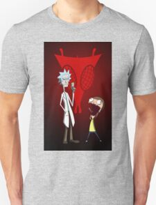 Rick and Morty, Invader Zim mashup T-Shirt