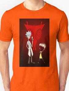 Rick and Morty, Invader Zim mashup T-Shirt