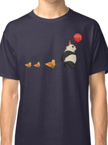 Cute Panda and Ducks Classic T-Shirt
