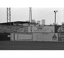 Old Time Baseball Field Photographic Print