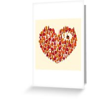 Wild at Heart Greeting Card