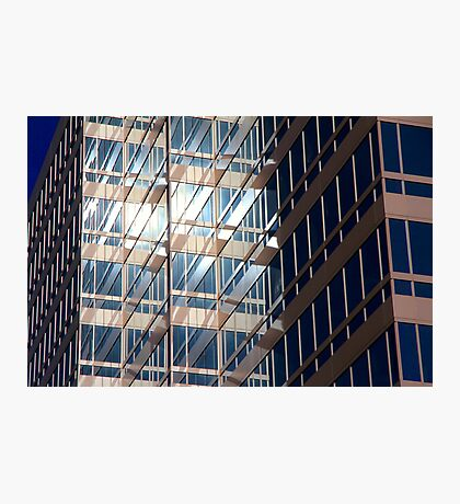 Office Building at Sunset Photographic Print