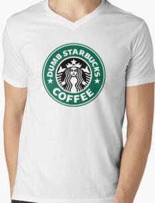 Dumb Starbucks Collector Items Mens V-Neck T-Shirt