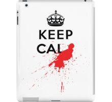 Keep Calm and Die Horribly iPad Case/Skin