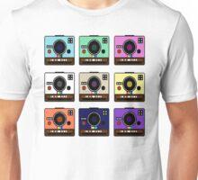 Pixelated Cameras Unisex T-Shirt