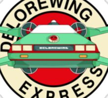 DeloreWing Express Sticker