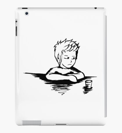 At The End Of The Day, I Just Want To Drink The Night Away iPad Case/Skin