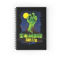 ZOMBIE GHETTO OFFICIAL LOGO DESIGN T-SHIRT Spiral Notebook