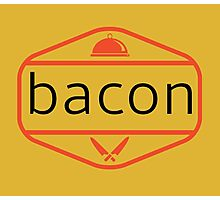 The Bacon Photographic Print