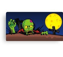 ZOMBIE GHETTO OFFICIAL ARTWORK DESIGN T-SHIRT Canvas Print