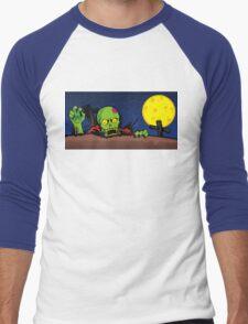 ZOMBIE GHETTO OFFICIAL ARTWORK DESIGN T-SHIRT Men's Baseball ¾ T-Shirt