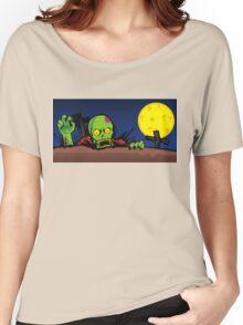 ZOMBIE GHETTO OFFICIAL ARTWORK DESIGN T-SHIRT Women's Relaxed Fit T-Shirt
