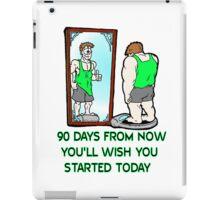 90 Day Challenge iPad Case/Skin