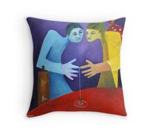 The Traveller's Guide Throw Pillow