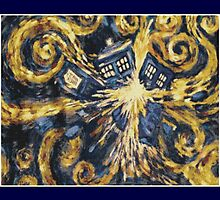 Exploding Tardis by WhoCrafted11