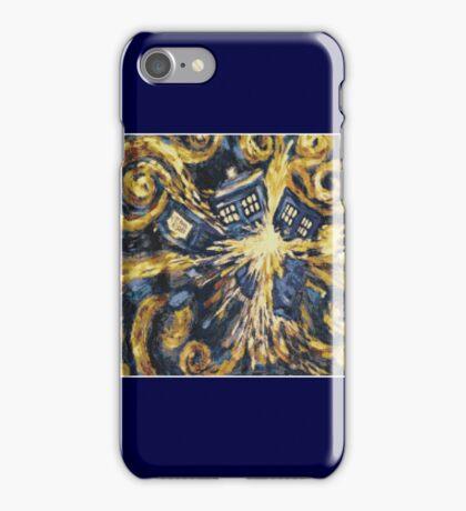 Exploding Tardis iPhone Case/Skin