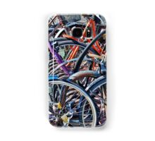 Colorfull bicycles Samsung Galaxy Case/Skin