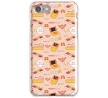 Gamer Pattern Pink iPhone Case/Skin