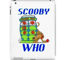 Scooby Who iPad Case/Skin