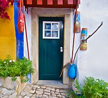Colorful Wood Door of Portugal by David Letts