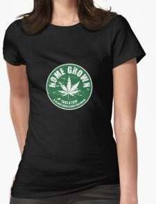 Home Grown Womens Fitted T-Shirt