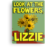 Look At The Flowers, Lizzie #2 Metal Print