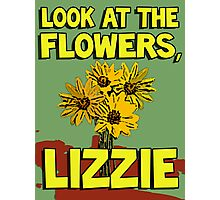 Look At The Flowers, Lizzie #2 Photographic Print