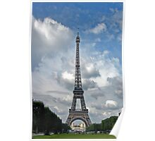 The Eiffel Tower in September Poster