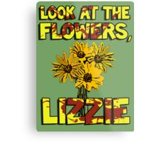 Look At The Flowers, Lizzie #3 Metal Print