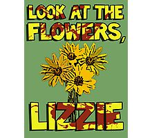 Look At The Flowers, Lizzie #3 Photographic Print