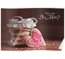 Will You Be Mine? - Greeting Card Poster
