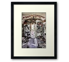 Amy Winehouse Graffiti Train II Framed Print