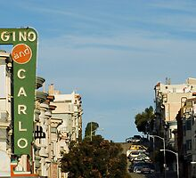 telegraph hill buildings by photoeverywhere
