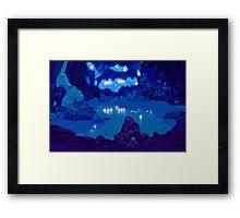 Wyndia: Plummet Caverns Location Painting Framed Print