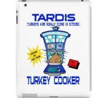 Tardis Turkey Cooker iPad Case/Skin