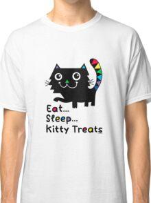 Eat, Sleep, Kitty Treats  Classic T-Shirt