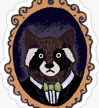 Raccoon Husband Sticker