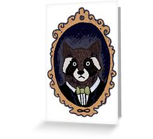 Raccoon Husband Greeting Card