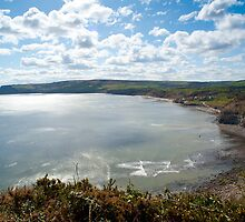 View of Robin Hoods Bay by photoeverywhere