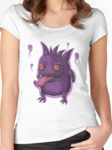 Nightmare Eater Women's Fitted Scoop T-Shirt
