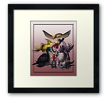 Twitch Plays Pokemon - Red Framed Print