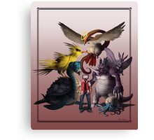 Twitch Plays Pokemon - Red Canvas Print