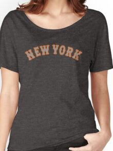 New York Mets Women's Relaxed Fit T-Shirt