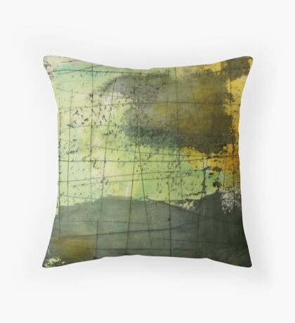 Stormy Weather - Silver Lining Throw Pillow