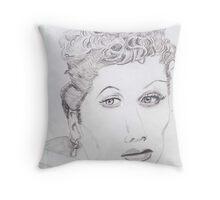 I Love Lucille Ball Throw Pillow