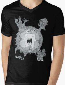 trippy domo  Mens V-Neck T-Shirt