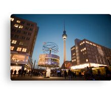 berlin alexanderplatzberlin alexanderplatz Canvas Print