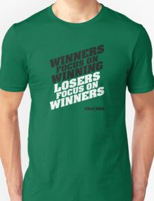 Conor McGregor - Quotes [Winners] T-Shirt