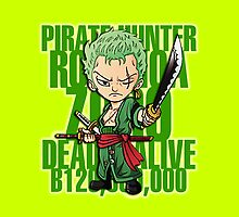 Chibi Zoro by hardsign